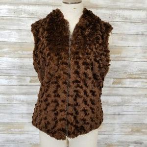 Cejon Accessories Inc Brown Fuzzy Teddy Bear Vest